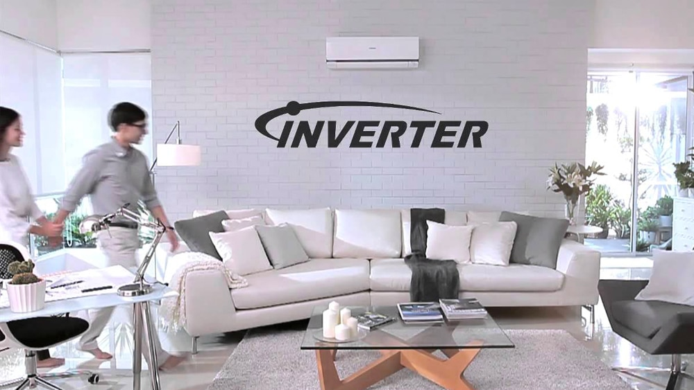 A lounge room with an inverter air conditioner installed in Wollongong